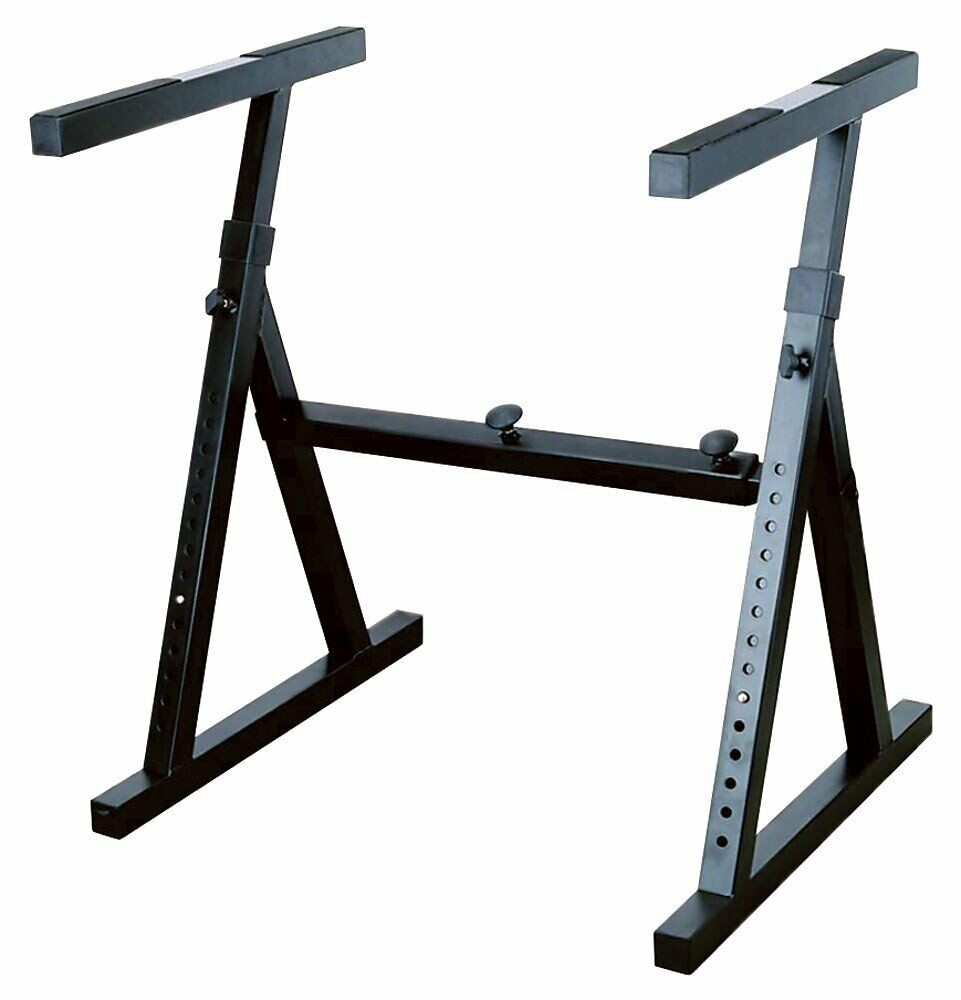 Stellar Labs 555-13830 Heavy Duty Keyboard Stand - Adjustable Width and Height