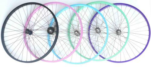 "Beach Cruiser Bike 26/"" Front Wheel Color Black Pink  BabyBlue Mintgreen purple"