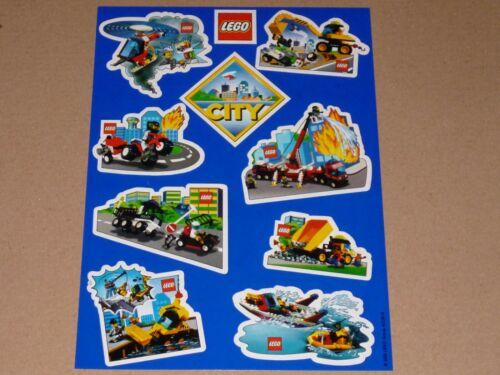 Lego 10 Aufkleber-Sticker pro Bogen 4322818 von ca.2000 Neuwertig !