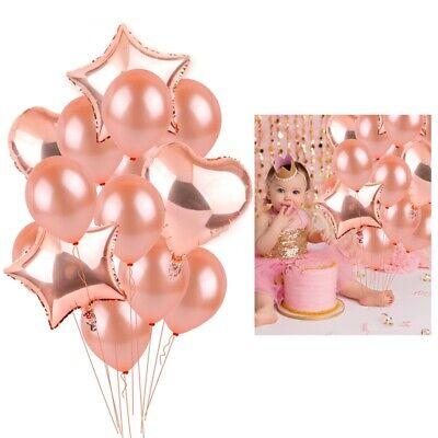 10x Latex Transparent Hélium Ballons Flocons de neige étoile Anniversaire Déco NEUF