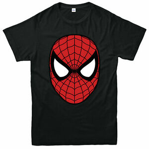 Spider-Man-T-Shirt-Action-Super-Hero-Figure-Marvel-Comics-Adult-amp-Kids-Tee-Top