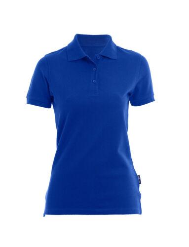 Damen Heavy Polo Shirt kurzarm T-Shirt Größe XS bis 5XL in 6 Farben Pullover