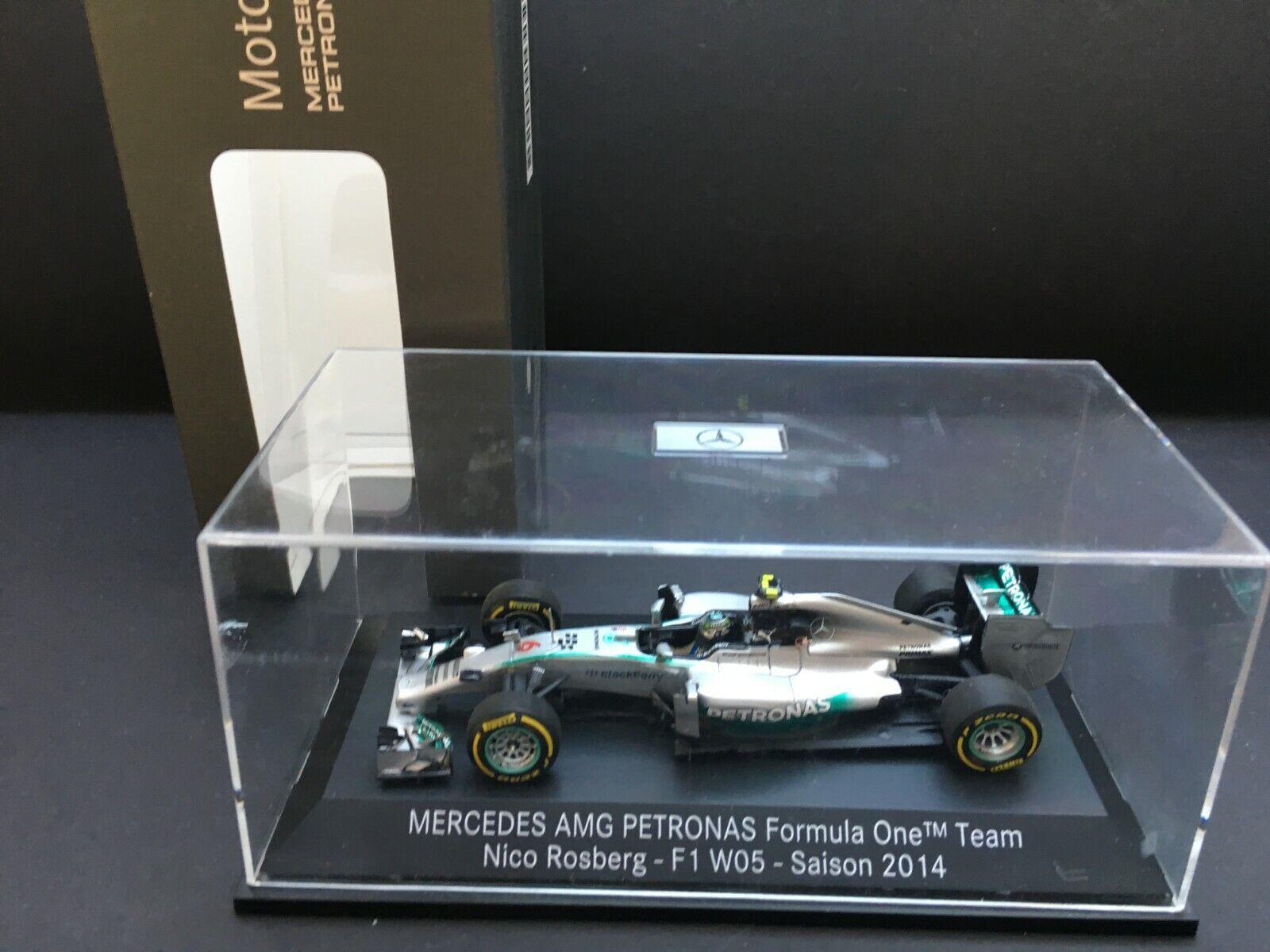 Minichamps - Nico Rosberg - Mercedes Petronas W05 - 2014