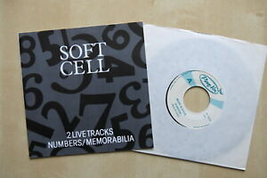 SOFT-CELL-Numbers-Memorabilia-Rare-7-034-in-picture-sleeve