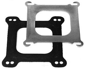 """Edelbrock 2732 Spread Bore To Square Bore Carburetor Adapter Plate 3//32/"""" Thick"""