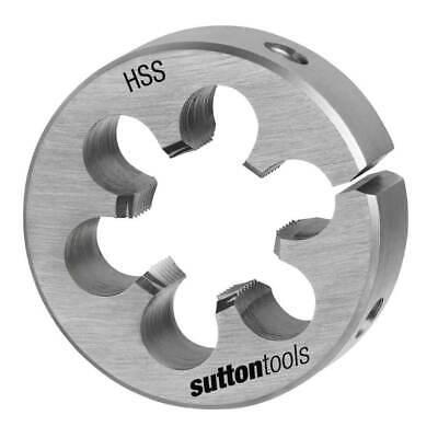 """SUTTON 1 1//2/"""" split die button Metric M10 x 1.5; M14 x 2.0"""
