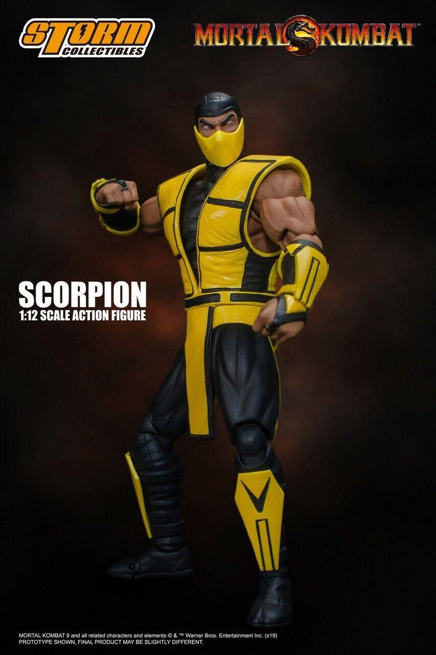 Storm Collectibles Scorpion Mortal Kombat 1 12 Scale Action Figure New