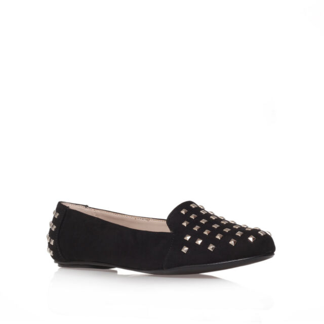 LACK CARVELA KURT GEIGER SUEDETTE BLACK WOMENS LADIES SHOE