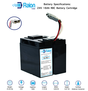 RBC7 UPS Complete Replacement Battery Kit for APC SUA1500X93