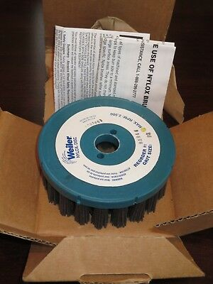Weiler 85940 10in Nylox Disc Brush 80 Grit