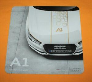 Audi-A1-Lifestyle-Kit-Gold-2013-Prospekt-Brochure-Depliant-Catalog-Prospetto