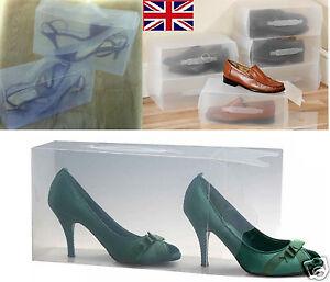 d2f15645 La imagen se está cargando Set-De-10-Transparente-Para-Hombre-senoras-Zapato -