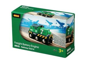 BRIO-33214-Freight-Battery-Engine-children-kids-toys-Brand-new-Free-Post