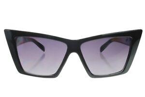 6716ca9ea8e 60s Alvina Womens Retro Mod Angular Cat Eye Sunglasses Designer ...