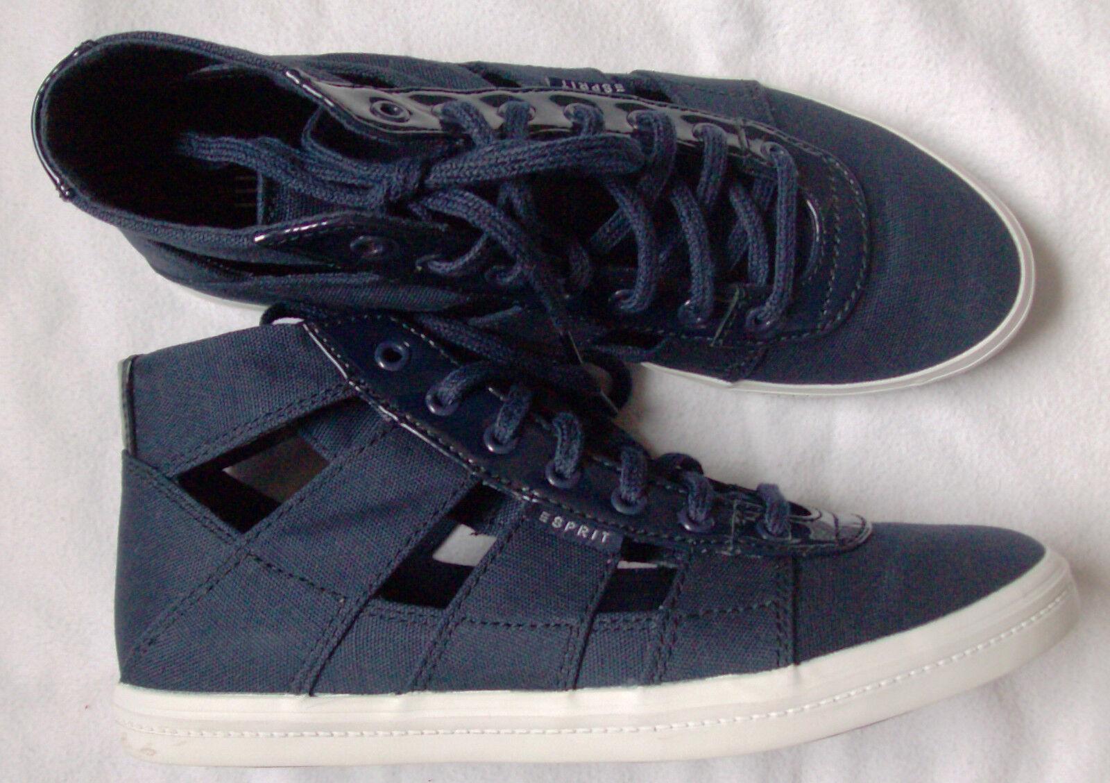 Esprit Sommer-Sneaker - Gr. 3 8- dunkelblau - N E U + O V P
