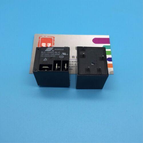 1PC NEW Songle Relay SLC-12VDC-SL-C 30A250VAC T91 HF2100