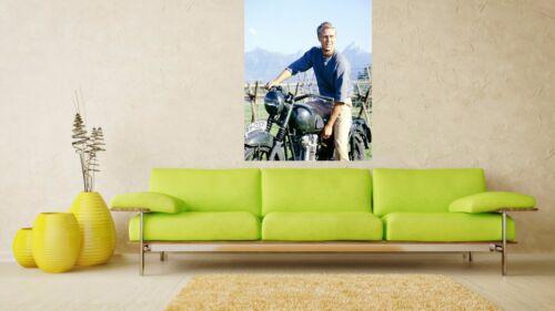 The Great Escape Steve McQueen  Retro Movie Poster A0-A1-A2-A3-A4-A5-A6-MAXI 330