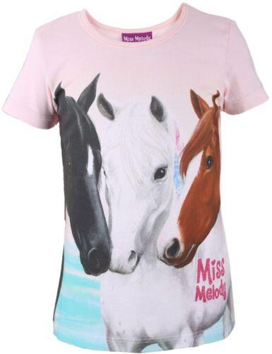 Miss Melody T-shirt 84043 ragazze Verde Chiaro//Rosa 104,116 scelta NUOVO