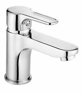 WASCHTISCHARMATUR-Wasserhahn-Einhebelmischer-ARMATUR-CHROM-Einhandmischer-DEANTE