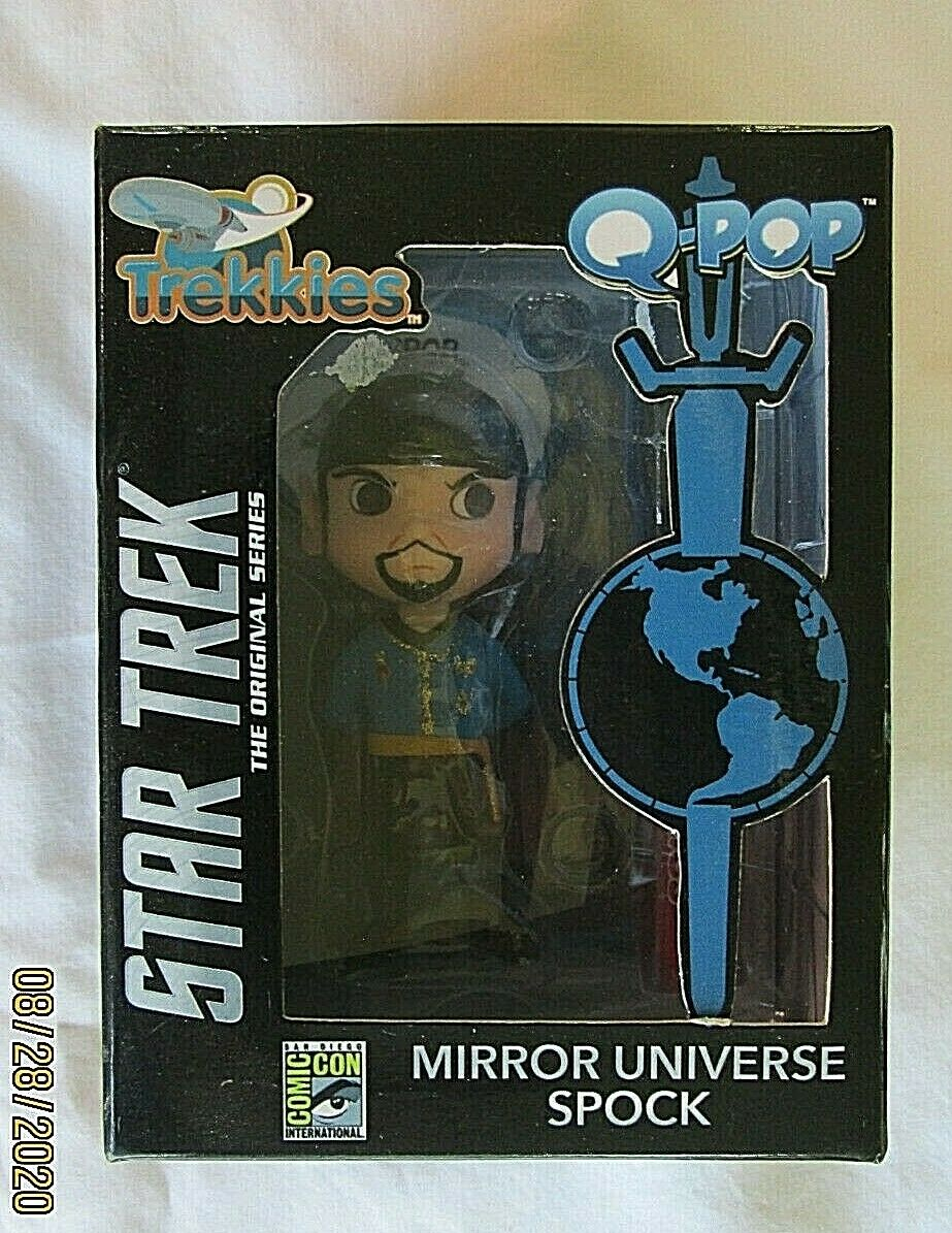 "Star Trek: /""Mirror Mirror/"" Spock Pop Vinyl Figure FunKo Free Shipping! Pop"