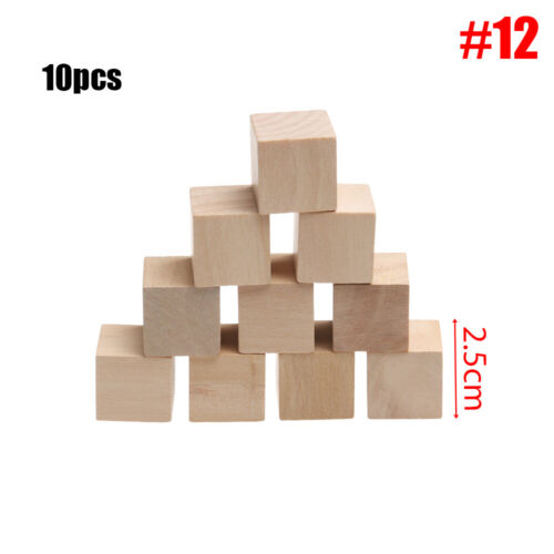 Wood Dice Teaching Dices DIY Games Printing Mathematics learning Accessories