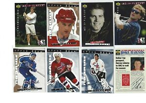 1995-Be-a-player-Hockey-Card-UD-Auto-Signature-Autograph-LOT-of-13-L-k