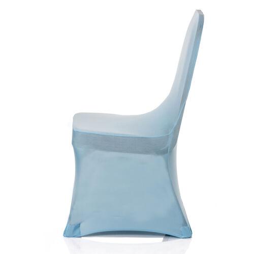 Chair Covers SPANDEX LYCRA pour Fêtes Anniversaire Mariage Décoration Maison 1-100pcs