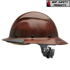 Lift Safety Dax Fiber Reinforced Resin Full Brim Hard Hat With Ratchet Suspension
