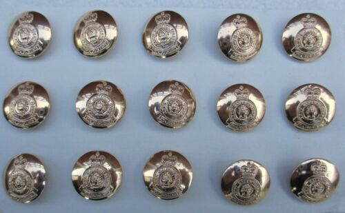"""15x British:/""""ARMY CATERING CORPS BUTTONS/"""" 19mm, New, No1 Tunics, Blazers etc"""