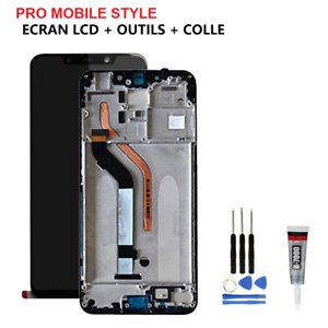 Vitre-tactile-ecran-LCD-CHASSIS-FRAME-Original-POCOPHONE-F1-OUTILS-COLLE