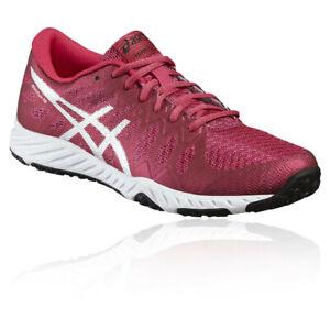 Asics-Femme-Nitrofuze-TR-Baskets-De-Sport-Chaussures-Running-Fitness-Rose