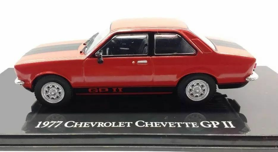 Brazilian Chevrolet Collection - 1977 Chevrolet Chevette GP2  In Red color