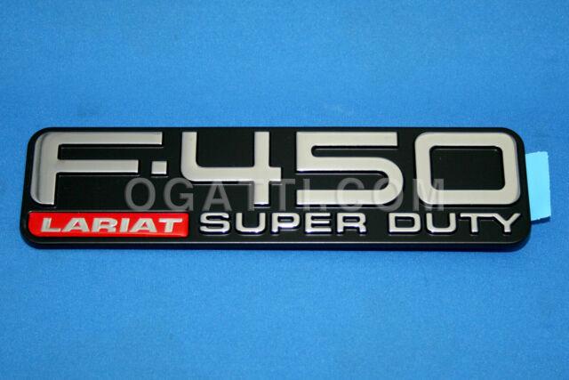 NEW OEM EMBLEM FOR FORD F-450 LARIAT SUPER DUTY XC3Z-16720-AA