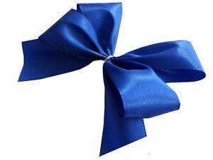 2 Größen einfarbig Lucia 3er Set XL Seidenband Geschenkschleife mit Band