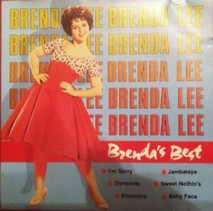 Brenda-Lee-Brenda-039-s-best-16-tracks-CD