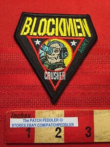 RARE-PATCH-Blockmen-Military-Building-System-CORPORAL-CRUSHER-ARMY-64G2