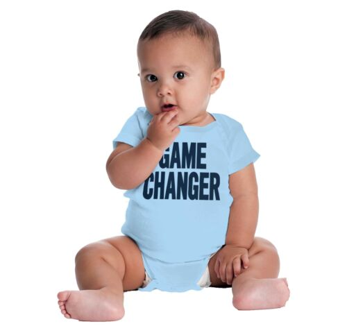 Game Changer Funny ShirtCute Baby Gift Coo Newborn Romper Bodysuit For Babies