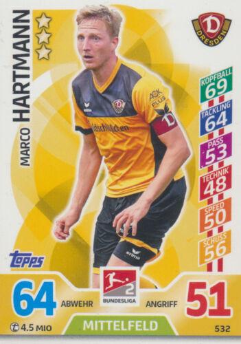 2 Match Attax EXTRA 17//18-532-Marco Hartmann Championnat