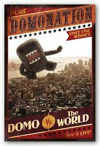 CARTOON POSTER Domo Nation