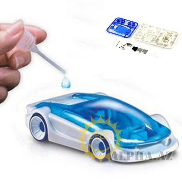 DIY Mini Salt SalineWater Power Fuel Boy Kid Car Kit Robot Baby Educational Toy