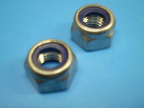 10 Sechskant Schrauben DIN 933 M7 x 20 mm 10 Stopmuttern 10 Federringe galZN Z