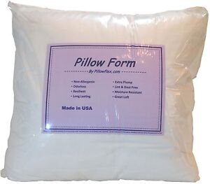 Synthetic-Down-Pillow-Form-Insert-Multiple-Sizes-Craft