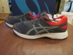NWT Mens Gray \u0026 Red Asics Gel Contend 6 Tennis Shoes, 14   eBay