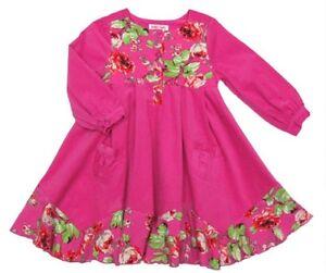 Posh-Baby-Nay-Candy-Rose-Toddler-Girl-Hot-Pink-Cord-Bridgett-Dress-3T
