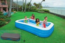 Intex Schwimm Center Family Pool  58484 + Abdeckplane 58412
