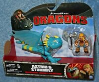 Dreamworks How To Train Your Dragon Astrid & Stormfly Figure Deadly Nadder