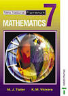 New National Framework Mathematics 7 Core Pupil's Book by K. M. Vickers, M. J. Tipler (Paperback, 2002)