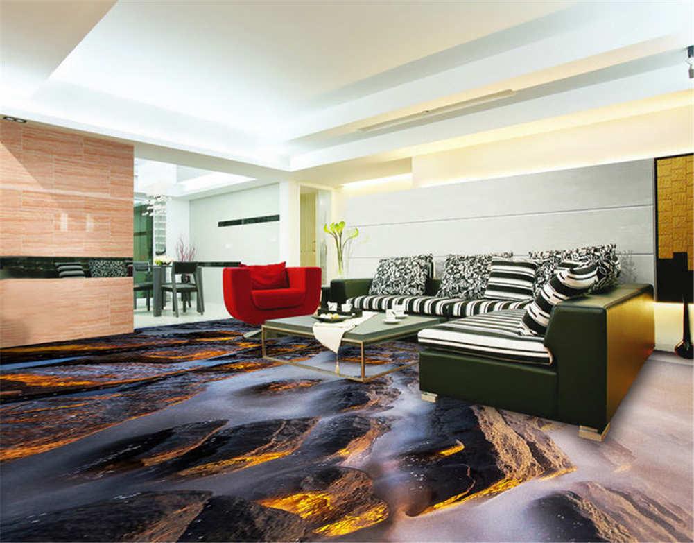 Ordentlich Die Steine 3D Fußboden Wandgemälde Foto Bodenbelag Tapete Zuhause Dek