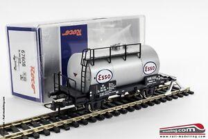 ROCO-67608-H0-1-87-Carro-merci-cisterna-2-assi-DSB-ESSO-Ep-III