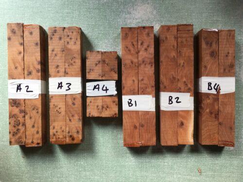 Luthitec Sampler acabado de madera Placa